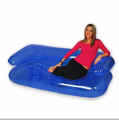 Blow up Inflatable Furniture :: Full Sized 6' Inflatable Sofa Couch<!-- Click to Enlarge-->