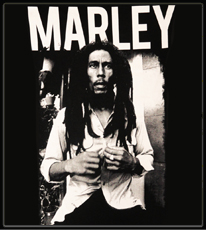 "Bob Marley ""Black & White"" Men's T-Shirt"