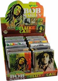 Bob Marley Cigarette Case Collection For Regular Size (12 Piece Display)