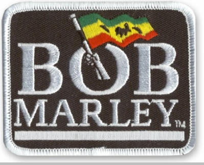 Bob Marley Logo Patch<!-- Click to Enlarge-->