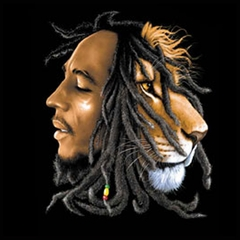 Bob Marley Profiles Mens T-Shirt