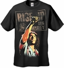 Bob Marley Rise Up Men's T-Shirt (Black)