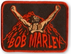 Bob Marley Uprising Patch