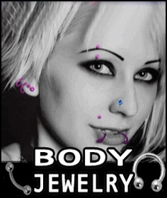 Body Jewelry - Navel Jewelry - Tongue Barbells