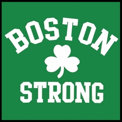 Boston Strong Irish Shamrock Men's T-Shirt