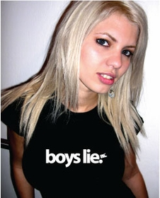 Boys Lie Girls Tee