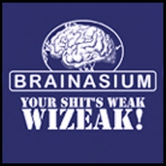 Brainasium (Grandmas Boy Movie) T-Shirt