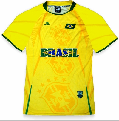 Brasil PRO Soccer Jersey :: PRO Futball Jersey (Yellow)<!-- Click to Enlarge-->