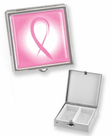 Breast Cancer Awareness Pill Case (Assorted)