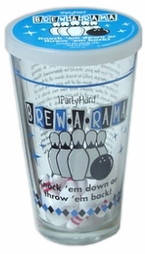 Brew-A-Rama Drinking Game Glass