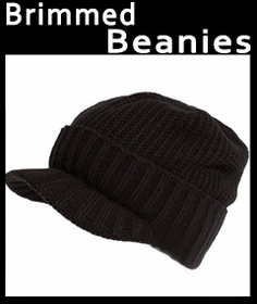 Brimmed Beanies