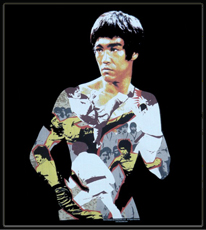 """Bruce Lee """"Body of Action"""" T-Shirt"""