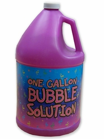 Bubble Solution :: Bubble Machine Refill Liquid (1 Gallon)