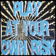 "Bulzeye Revolution ""At Your Own Risk"" RhinestoneCouture T-Shirt"
