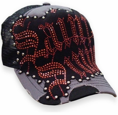Bulzeye Saint Sinner Trucker Hat