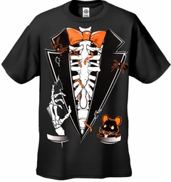 Buried Alive Halloween Tuxedo Men's T-Shirt