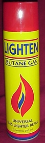 Butane Gas to Refill your Butane Lighter only $4.99