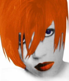 Bwild!!! Temporary Color Spray (Tiger Orange)