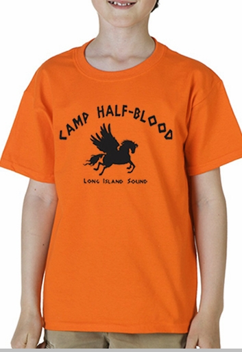 Camp half blood long island sound kid s t shirt