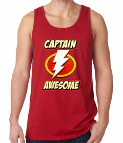 Captain Awesome Tank Top