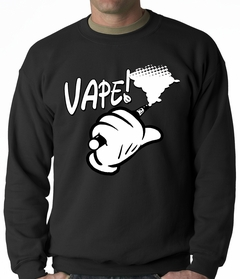 Cartoon Hand Vape Adult Crewneck