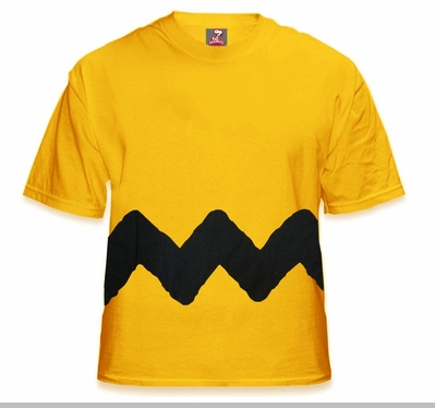 Charlie Brown's T-Shirt - Shirt Worn By Charlie Brown<!-- Click to Enlarge-->