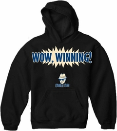 Charlie Says Shirts - Wow, Winning! Hoodie