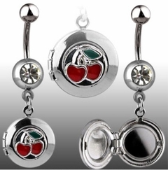Navel Body Jewelry - Cherrys Locket Navel Jewelry