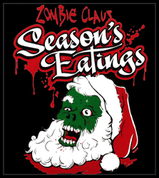 Christmas Tee's - Zombie Claus Men's T-Shirt