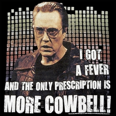 Christopher Walken I Got A fever Men's T-Shirt