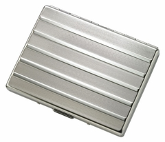 Classy Chrome Cigarette Case (For Regular Size & 100's)