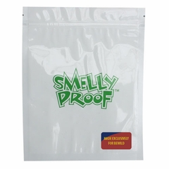 "CLEAR Smell Proof Bags - 100 Pack of Medium 6 1/2"" x 7 1/2"" Clear Bags"