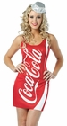 Coca Cola Tank Dress Costume