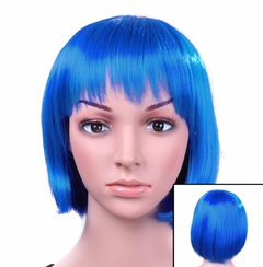 Colored Wigs - Turquoise Colored Wig