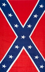 Confederate Flag Beach & Bath Towel