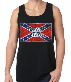 Confederate Flag Stays Tank Top