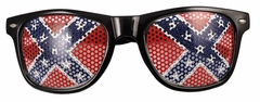 Confederate Rebel Flag Wayfarer Glasses