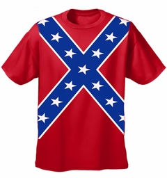 Confederate Rebel Pride All Over T-Shirt (Front and Back Print)