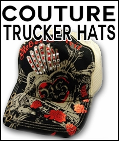 Couture Hand Made & Designer Trucker Hats