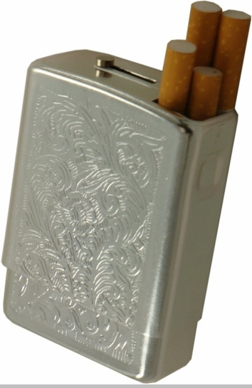 Crush Proof Cigarette Pack Case  (For Regular Size & 100's)<!-- Click to Enlarge-->