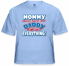 Daddy Knows Everything Kids T-Shirt (Clearance)
