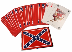 Deck of Confederate Rebel Flag Playing Cards