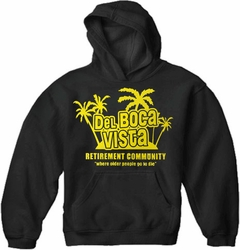 Del Boca Vista Adult Hoodie :: The Retirement Community
