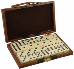 Deluxe 28 Piece Double Six Domino Gift Set