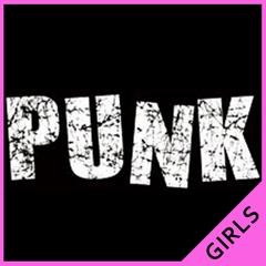 Distressed Punk Girls T-Shirt