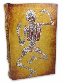 Diversion Safe - Skeleton Book Safe