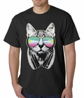 DJ Cat Mens T-shirt