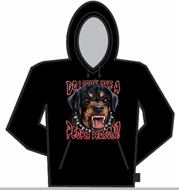 Do I Look Like A People Person Hoodie<!-- Click to Enlarge-->