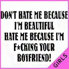 Don't Hate Me Girls T-Shirt