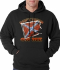 Don't Tread On Me Confederate Flag Adult Hoodie